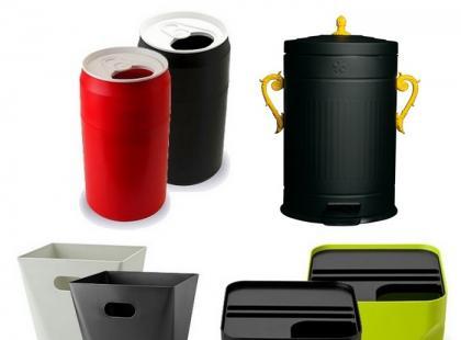Modne kosze do recyklingu odpadów