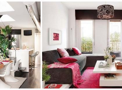 Modne mieszkanie dwupoziomowe