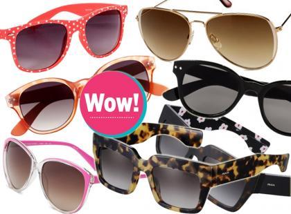Modne okulary przeciwsłoneczne. Ceny już od 19 złotych!