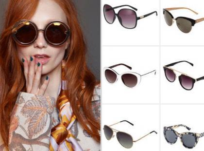 Modne okulary przeciwsłoneczne na wiosnę i lato