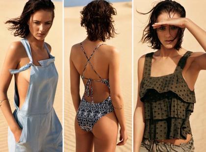 Modne plażowanie w najnowszej kampanii Oysho