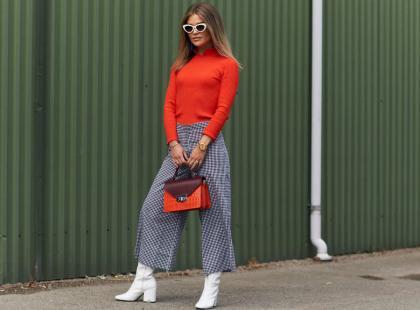 Modne spodnie culotte - jak je nosić, by dobrze wyglądać?
