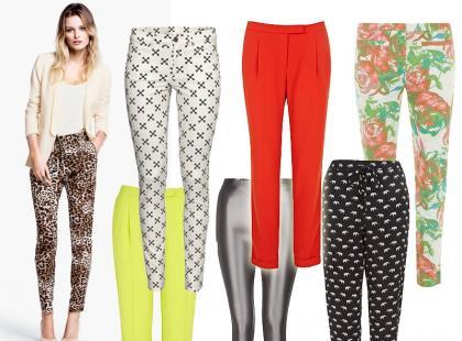 Modne spodnie na lato 2013