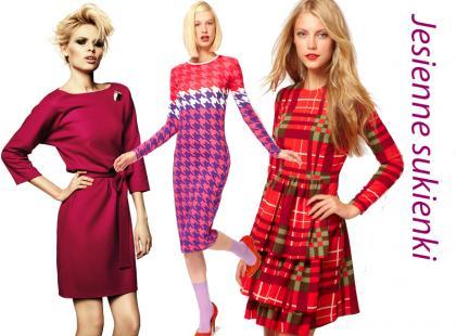 Modne sukienki na jesień 2012!