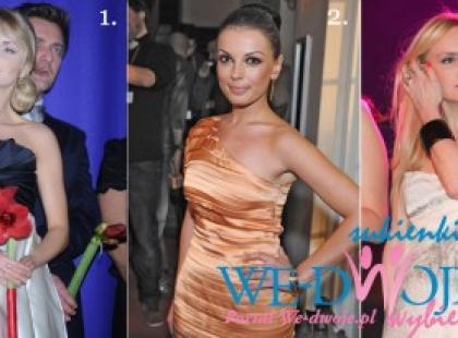 Modne sukienki polskich gwiazd - We-dwoje wybiera (przedwiośnie 2009)