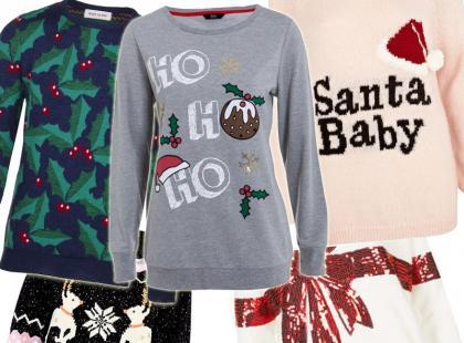Modne swetry ze świątecznym motywem