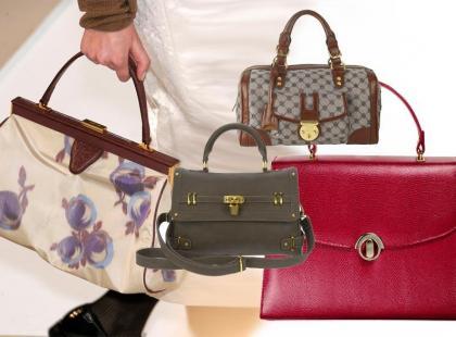 Modne torby w stylu vintage - wiosna 2011