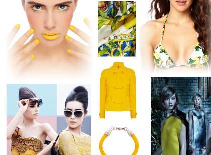 Modny kolor 2013: żółty cytrynowy