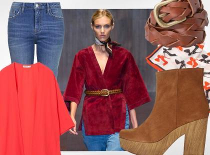Modny look z pokazu Gucci: szałowe lata 70.