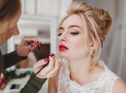 Modny makijaż ślubny