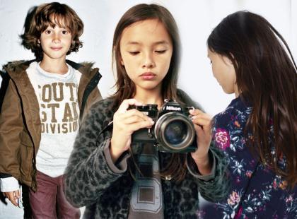 Modny maluch według Zara Kids