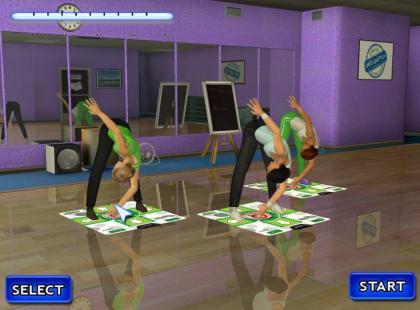Mój fitness: Gra fitness z użyciem maty!