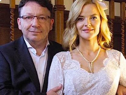 Monika i Zbigniew Zamachowscy: To był ślub jak z bajki!