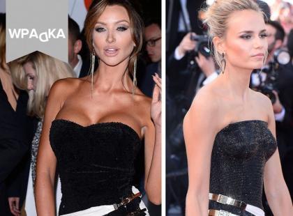 Monika Pietrasińska w podróbce kreacji Versace?