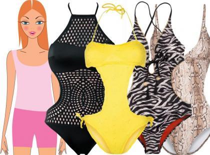 Monokini: stroje kąpielowe, które wyczarują talię