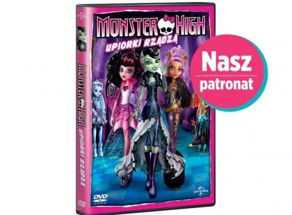 Monster High: Upiorki rządzą na DVD