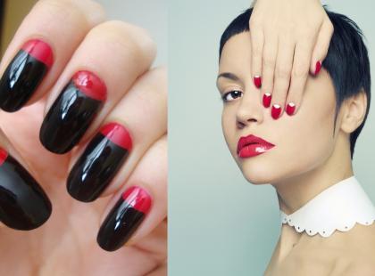 Moon manicure - trendy na jesień 2012