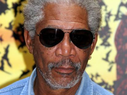 Morgan Freeman ranny w wypadku