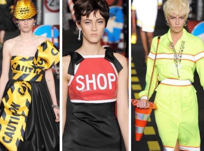 Moschino - kolekcja inspirowana ulicą - dosłownie!