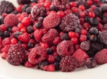 Mrożenie i rozmrażanie owoców