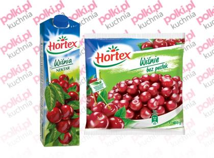 Mrożone Wiśnie bez pestek i nektar Wiśnia Hortex