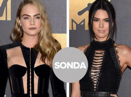 MTV Movie Awards 2016: pojedynek modelek - przyjaciółek