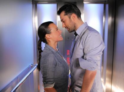 """Mucha i Bobek zatrzaśnięci w windzie w """"Prosto w serce"""""""