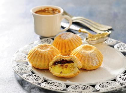 Muffinki migdałowo-brzoskwiniowe