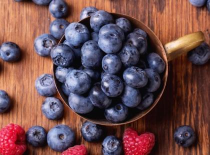 Muffiny z leśnymi owocami - przepis