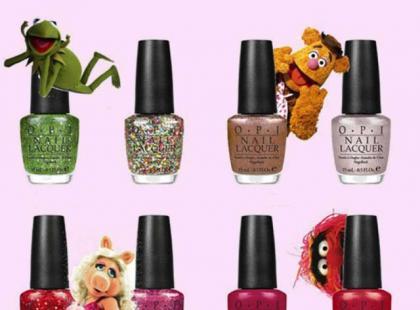 Muppety OPI - kolekcja świąteczno-karnawałowa