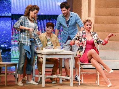 "Musical ""Mamma Mia"" w Teatrze Roma"