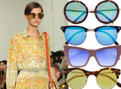 Musisz to mieć! Lustrzane okulary przeciwsłoneczne