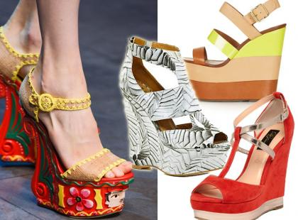 Musisz to mieć: modne koturny na lato 2013