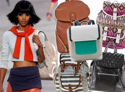 Must-have: 41 modnych plecaków na wiosnę