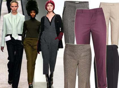 Must-have do biura: przegląd spodni garniturowych