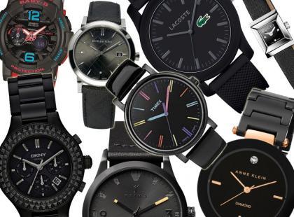 Must-have sezonu: 35 modeli czarnych zegarków