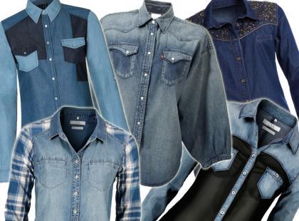 Must have w każdej szafie: jeansowe koszule