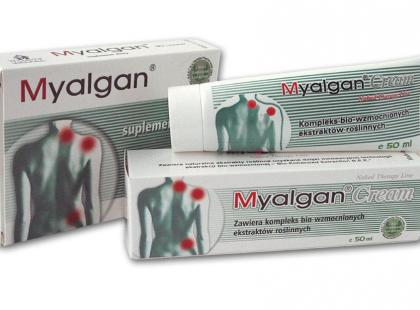 Myalgan - ulga przy fibromialgii