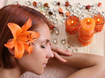 Na czym polega masaż świecą?