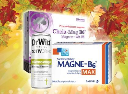 Na jesienne przemęczenie: przegląd 12 preparatów z magnezem
