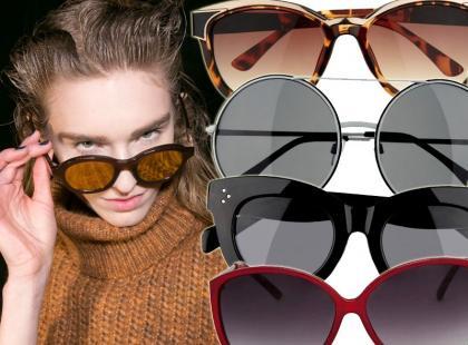 Na jesienne słońce: 35 par okularów przeciwsłonecznych od 9,90 zł