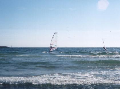 Na morze - czy jestem już na tyle dobrym surferem?