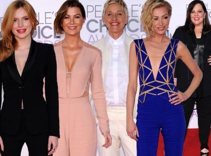 Na People's Choice Awards 2015 królowały spodnie