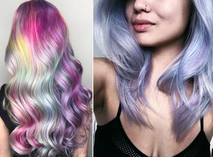 Na punkcie holograficznych włosów oszalał cały świat. Czy ten trend zostanie z nami na dłużej?