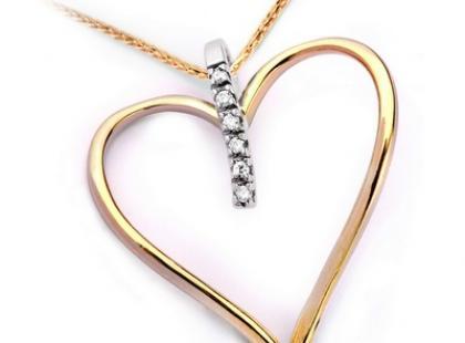Na Walentynki - złote serce w prezencie!