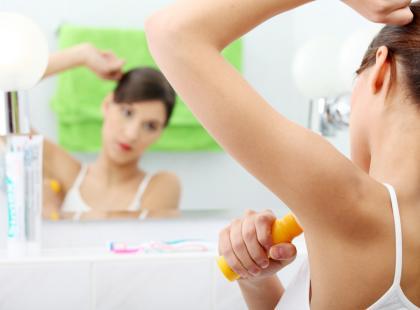 Nadpotliwość - zabiegi z botoksem