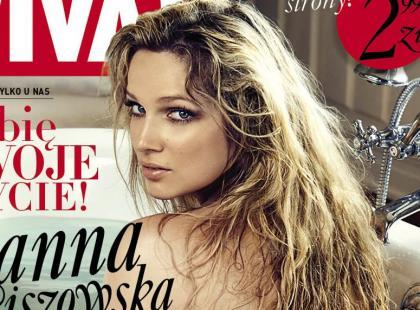 "Naga Joanna Liszowska na okładce nowej ""Vivy!"""