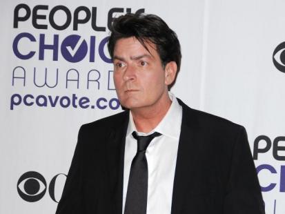 Nagi Charlie Sheen rozrabiał w hotelu!