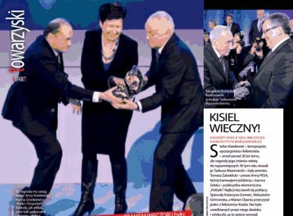 Nagrody Kisiela 2012 przyznane