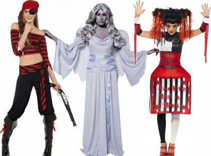 Najciekawsze przebrania na halloween 2012